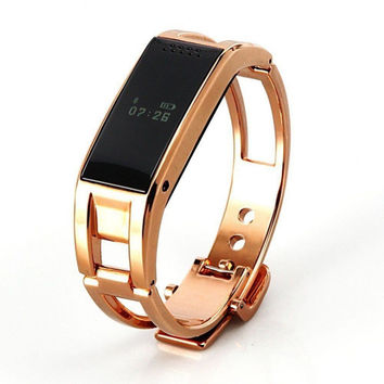 Fashion D8 Bluetooth Smart Watch Smartband Bracelet Sync Phone Call/ Pedometer for Samsung HTC Android Smartphones gift wear