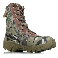ATS Camouflage Tactical Combat Boots(several colors)