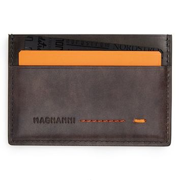 Men's Magnanni 'Arkansas' Leather Card Holder