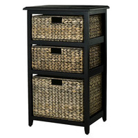 Jolie 3-Drawer Chest - Espresso
