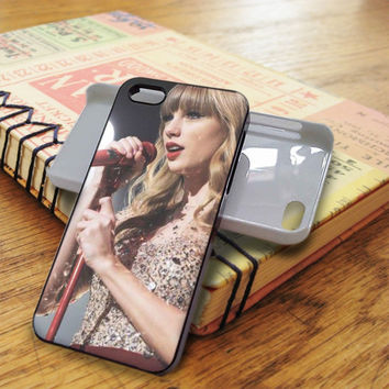 Taylor Swift Singer Red iPhone 5C Case