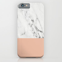 Marble and Rose iPhone & iPod Case by Grace