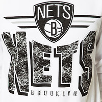 The Brooklyn Nets Sweatshirt in White