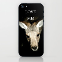 Stop culling Kangaroos! iPhone & iPod Skin by Chris' Landscape Images of Australia   Society6