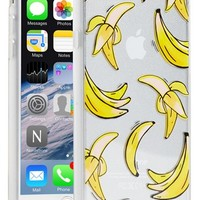 Sonix 'Clear That's Bananas' iPhone 6 Case - Yellow
