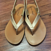 That's My Baby Flats - Gold