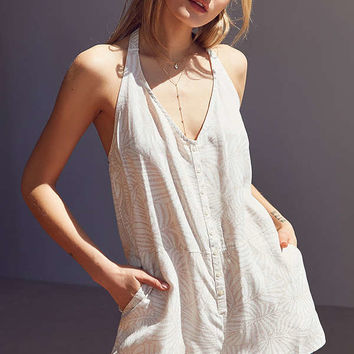 OBEY Skylar Overall Romper | Urban Outfitters