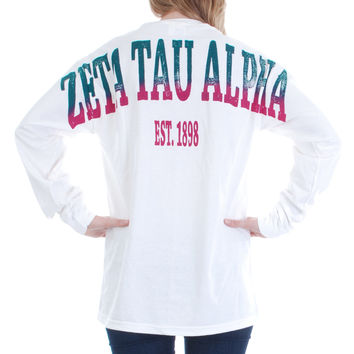 Zeta Tau Alpha Color Series Stadium Jersey