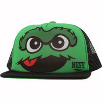 Neff Grouch Snapback Cap (green / black) - Caps - F12036GBK | PickYourShoes.com