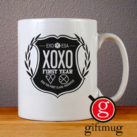 EXO XOXO Logo Ceramic Coffee Mugs