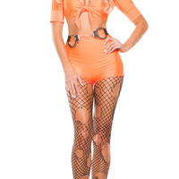 Jailbait Hottie Prisoner Costume