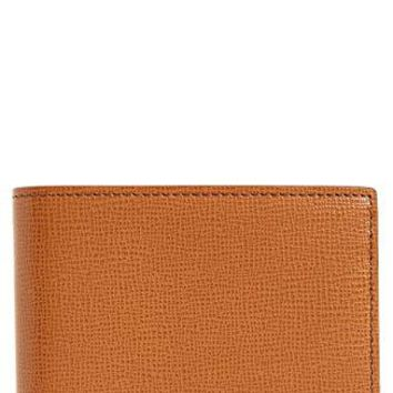 Burberry London Hipfold Bifold Leather Wallet