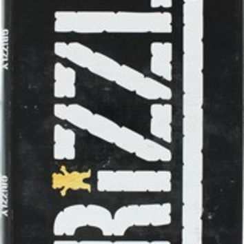 Grizzly 20/Box Stamp/Bear Cutout Black/White Griptape