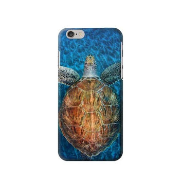 P1249 Blue Sea Turtle Phone Case For IPHONE 6S PLUS