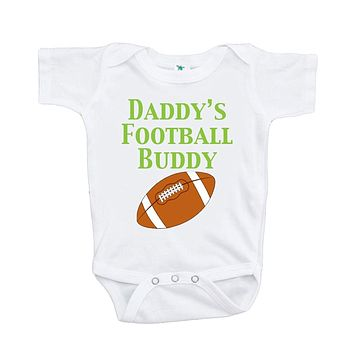 Custom Party Shop Baby Boy's Daddy's Football Buddy Onepiece