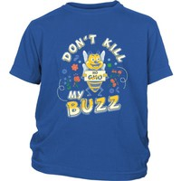 Don't Kill My Buzz: No GMO Save the Bees - Kid's Tee