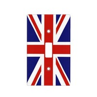 British Flag Light Switch Cover