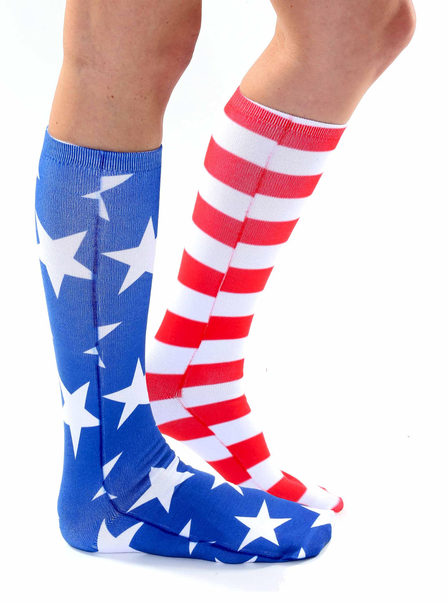 404a2a4441c Stars and Stripes Knee High Socks from Living Royal