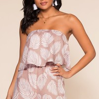 Shore Thing Off The Shoulder Romper