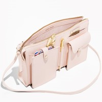& Other Stories | Leather Utility Bag | Light Pink