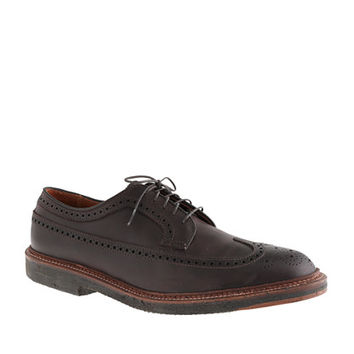 Alden For J.Crew Longwing Crepe Sole Bluchers