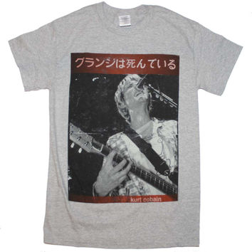 Kurt Cobain Guitar Kurt T-Shirt