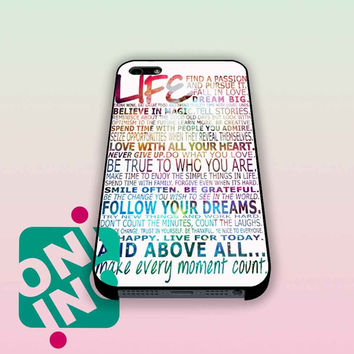 Galaxy Live Quotes iPhone Case Cover | iPhone 4s | iPhone 5s | iPhone 5c | iPhone 6 | iPhone 6 Plus | Samsung Galaxy S3 | Samsung Galaxy S4 | Samsung Galaxy S5