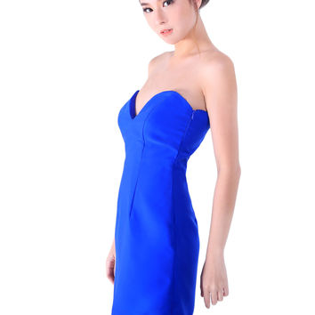 About Alexander Betina Dress in Royal Blue