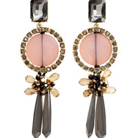 H&M - Long Earrings - Gold - Ladies