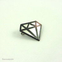 "Diamond Brooch ""Olwen"" 