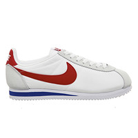 Nike Cortez Nylon White Red Blue - Unisex Sports