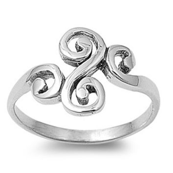 925 Sterling Silver Wicca Life Rebirth Ring