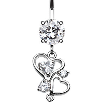Hearts Delight Belly Button Ring