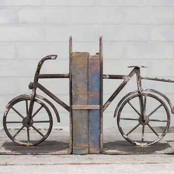 Bicycle Bookends - *FREE SHIPPING*