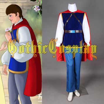 Prince Charming Costume  Adult 'Halloween Cosplay Costume