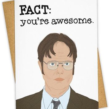 Fact: You're Awesome Card