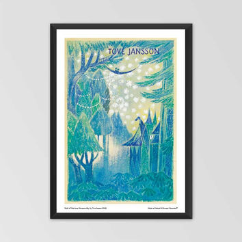 Moomin poster - Draft of Tales from Moominvalley