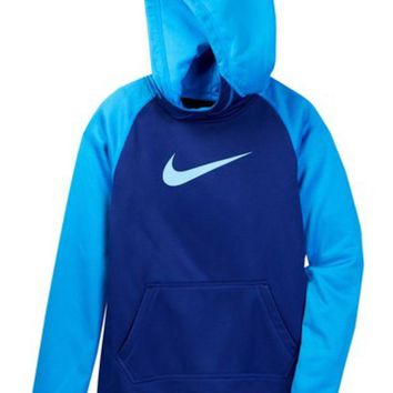 DCCKHB3 Nike | All Time Therma Hoodie (Little Girls & Big Girls)