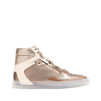 Balenciaga Metal High Sneakers Gold - Men's Sneaker