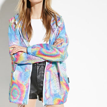 Jaded London Rainbow Waterproof Jacket
