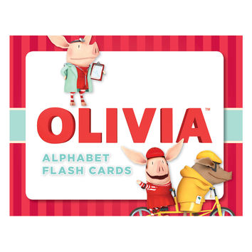 Chronicle Books Olivia Alphabet Flash Cards