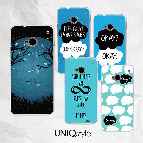 The fault in our stars phone cover for from UNIQstyle : Things I