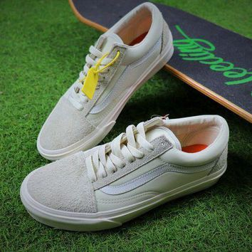 CREYNW6 Sale Vans Vault x Our Legacy Old Skool Pro 92 White Sport Shoes Sneaker VN0A38G7N86