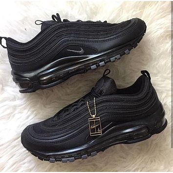 NIKE AIR MAX 97 Sport Shoes Women Men Sneakers Running Shoes be686131d