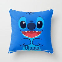Ohana. Throw Pillow by Sjaeℱashion | Society6