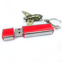 3D Airplane Airbus Key Chain, USB Flash Drive Keychain, Gift for Dad, Father's Day Gift