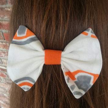 BB-8 star wars hair bow