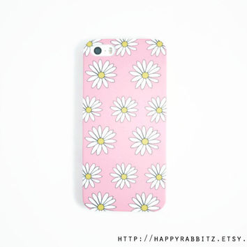 Floral iphone 5s case , Pink Daisy iphone 5 case , iphone 5s cover , cute iphone case , iphone 5 cover , cases
