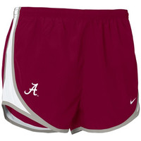 Nike Alabama Crimson Tide Crimson Ladies Tempo Shorts