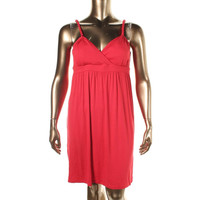 INC Womens V-Neck Knit Sundress